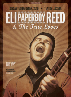 Eli Paperboy Reed poster