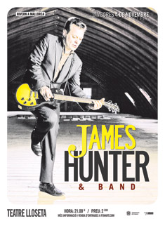 James Hunter en Mallorca